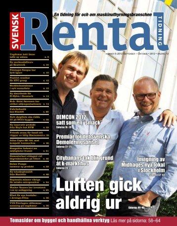 Luften gick aldrig ur - Svensk Rental