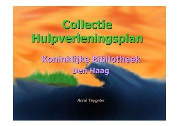 Collectie Hulpverleningsplan - Culture in Development