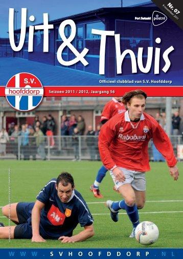 SVH Uit & Thuis 07 2011-2012.indd - SV Hoofddorp