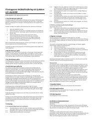 Företagarens Intäktsförsäkring vid sjukdom och olycksfall