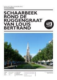Schaarbeek rond de ruggengraat van Louis Bertrand - UiT in Brussel
