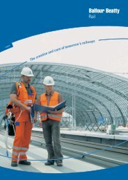 Power & Electrification Powering the system - Balfour Beatty Rail