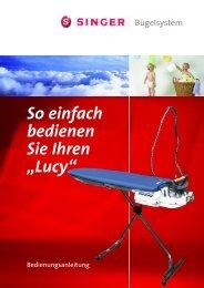 Anleitungsbuch Bügeltisch Lucy