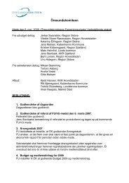 Referat fra møde den 6. maj 2008 - Öresundskomiteen