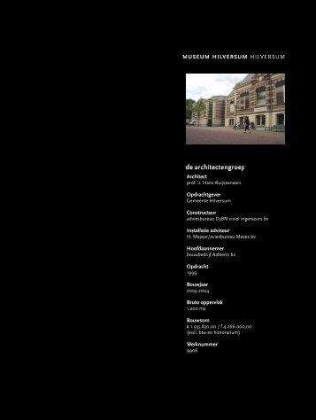 9906 - hilversum, uitbreiding museum - Hans Ruijssenaars Architecten