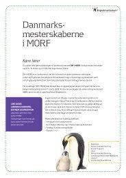 MORF Lærervejledningen - Experimentarium