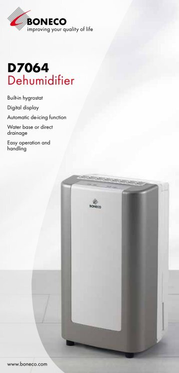 D7064 Dehumidifier