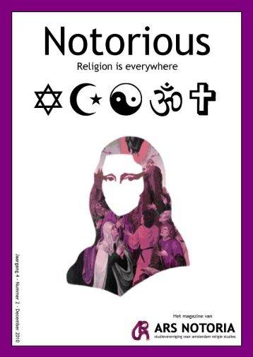 Nummer 2 - Religiestudies
