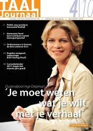 Download het Taaljournaal van december 2010 - Taalcentrum-VU