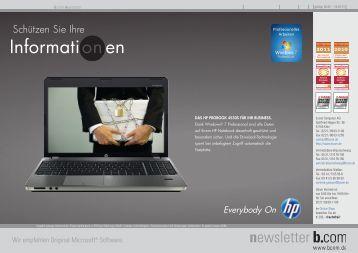newsletter - b.com