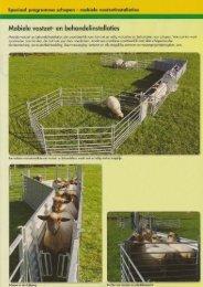 info mobiele vangkraal schapen