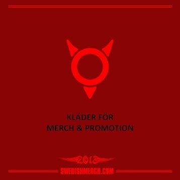 Katalog 2013 - Swedishmerch