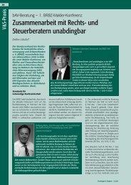 Nachlese zur 1. BRBZ-Makler-Konferenz 2010