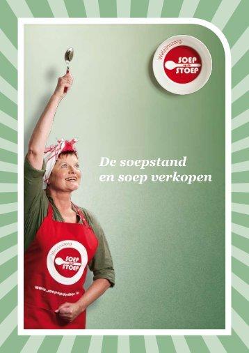 De soepstand en soep verkopen - SOEP op de STOEP