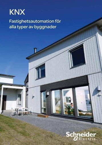 Fastighetsautomation för alla typer av byggnader - Storel + KNX