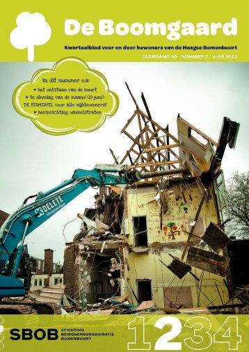 JAARGANG 30 · NUMMER 2 · JUNI 2012 - Bomenbuurtonline.nl