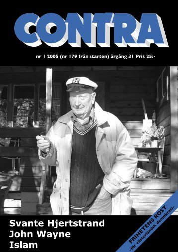 Nummer 1 2005 - Contra