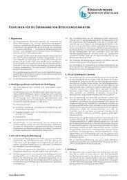 Richtlinien beteiligungsgarantie-042012 - Bürgschaftsbank NRW