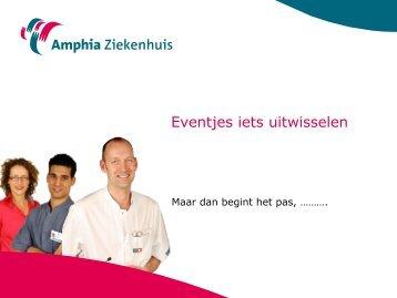 Timo Schipperen en Ulco Woudstra, Amphia Ziekenhuis