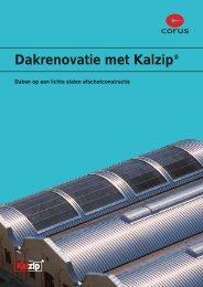 Kalzip Renovatie - Welkom op de website van Tata Steel Bouw