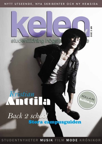 Anttila - Kelen – studenttidning Högskolan Dalarna