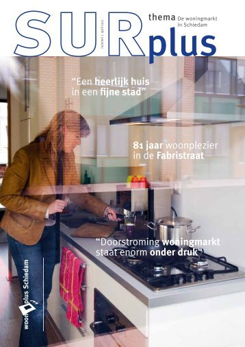 Surplus magazine editie april 2011 - Woonplus Schiedam