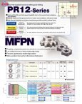 MEGACOAT PR-12 Series for Milling & Drilling - Kyocera - Page 2