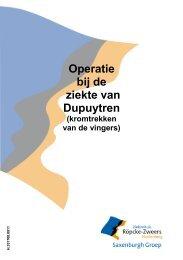 Operatie bij de ziekte van Dupuytren