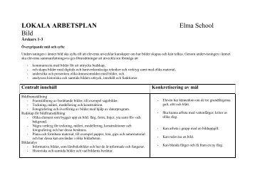 Bild ÅK 1-3 - Elma school