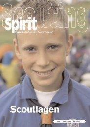 Scouting Spirit nummer 2 2004 - Nykterhetsrörelsens Scoutförbund