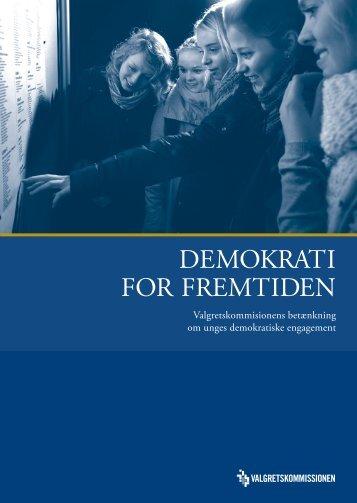 demokrati for fremtiden - Dansk Ungdoms Fællesråd