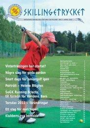 Skillingetrycket nr 1 2011 - Sollentuna Golfklubb