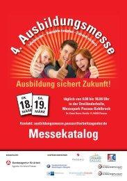 Messekatalog Ausbildung sichert Zukunft! - Wirtschaftsforum Passau