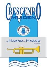 Uitgave juni 2013 - Muziekvereniging Crescendo Muiden