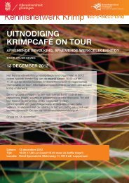 uitnodiging - Kennisnetwerk Krimp Noord-Nederland