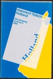 Archeologische Kroniek 1999 - Geschiedenis van Zuid-Holland