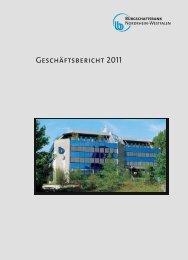 bb-nrw gb2011 - Bürgschaftsbank NRW