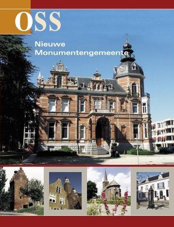 Nieuwe Monumentengemeente - Gemeente Oss