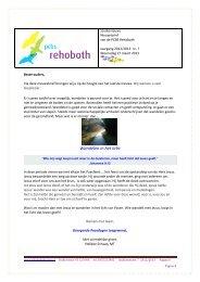Wandelen in het licht - PCBS Rehoboth