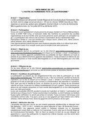 Article 1 – Organisateur - Jouez-avec-lhuitredenormandie.com