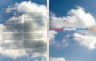 Verslag Congres Hollandwet april 2005 - Deltametropool