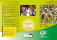 Een open en groene school ! - Scholengroep 5