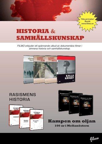 HISTORIA & SAMHÄLLSKUNSKAP - Filmo