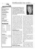 Ordföranden har ordet • Rapport från årsmötet ... - Mora Golfklubb - Page 2