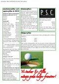 Ordföranden har ordet • Rapport från årsmötet ... - Mora Golfklubb - Page 4