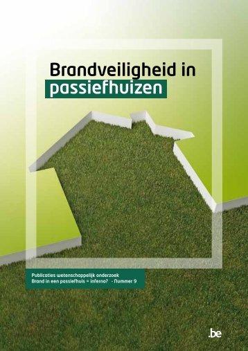 Brandveiligheid in passiefhuizen - Algemene Directie Veiligheid en ...
