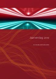 Jaarverslag 2010 - Westland Infra