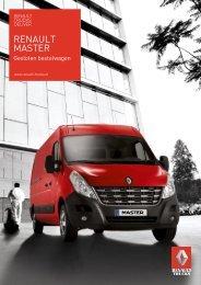 BROCHURE Renault Master gesloten bestelwagen - Renault Trucks