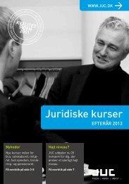 Advokatkurser - juridiske kurser - juc.dk. efterår 2013