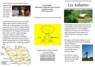Brochure - Les Aulnettes
